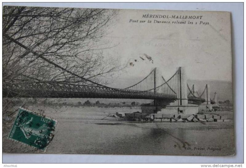 Vieux papiers et CPA : les ponts suspendus de Marc Seguin Mallem12