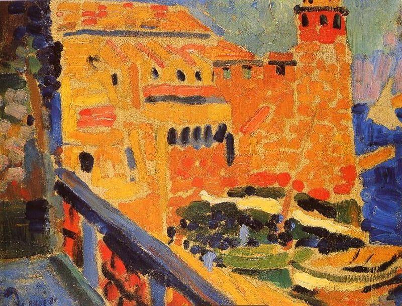 Et si Van Gogh était venu lui-aussi à La Bazouge? (Collages et pastiches) Phare_10