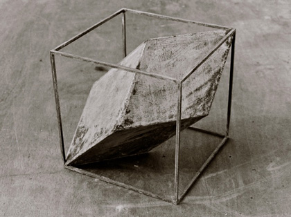 Construire des polyèdres en bois donc d'une certaine épaisseur Pol-0110