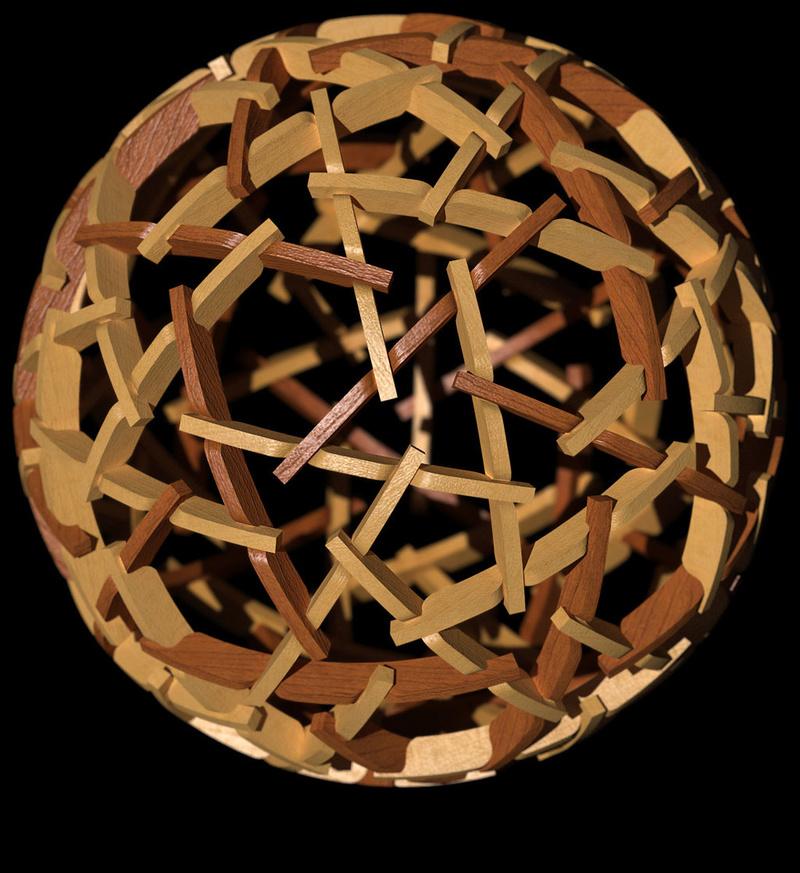 Construire des polyèdres en bois donc d'une certaine épaisseur Rotegr10