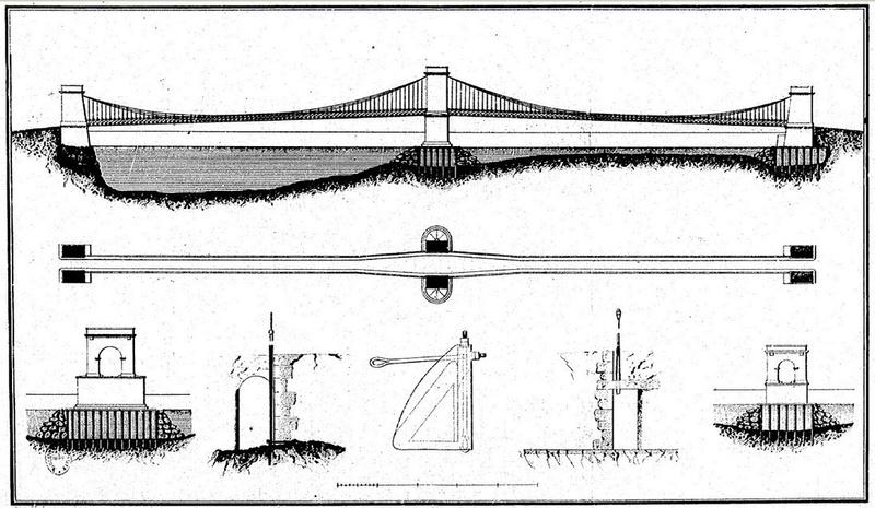 A la recherche de l'arche perdue : les ponts suspendus Seguin11