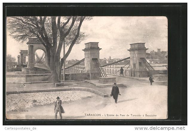 Vieux papiers et CPA : les ponts suspendus de Marc Seguin Tarasc11