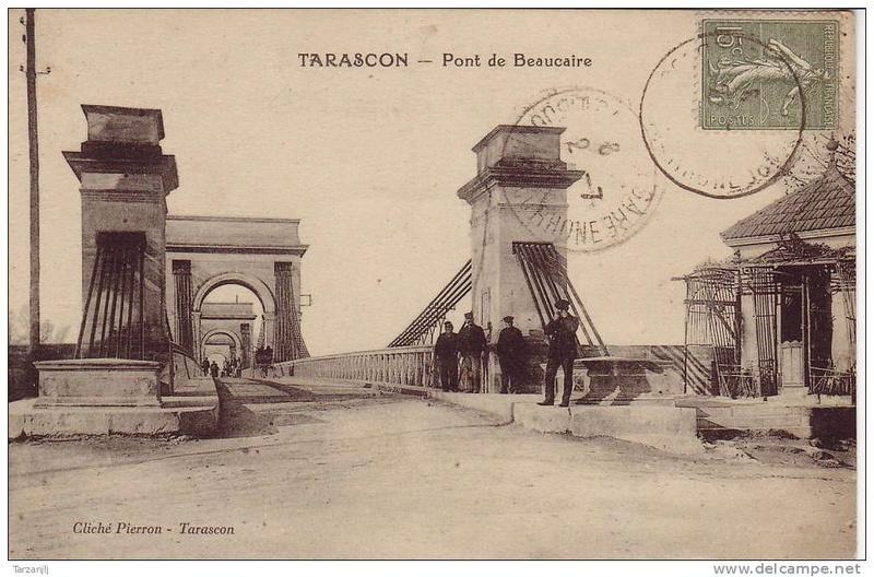 Vieux papiers et CPA : les ponts suspendus de Marc Seguin Tarasc12