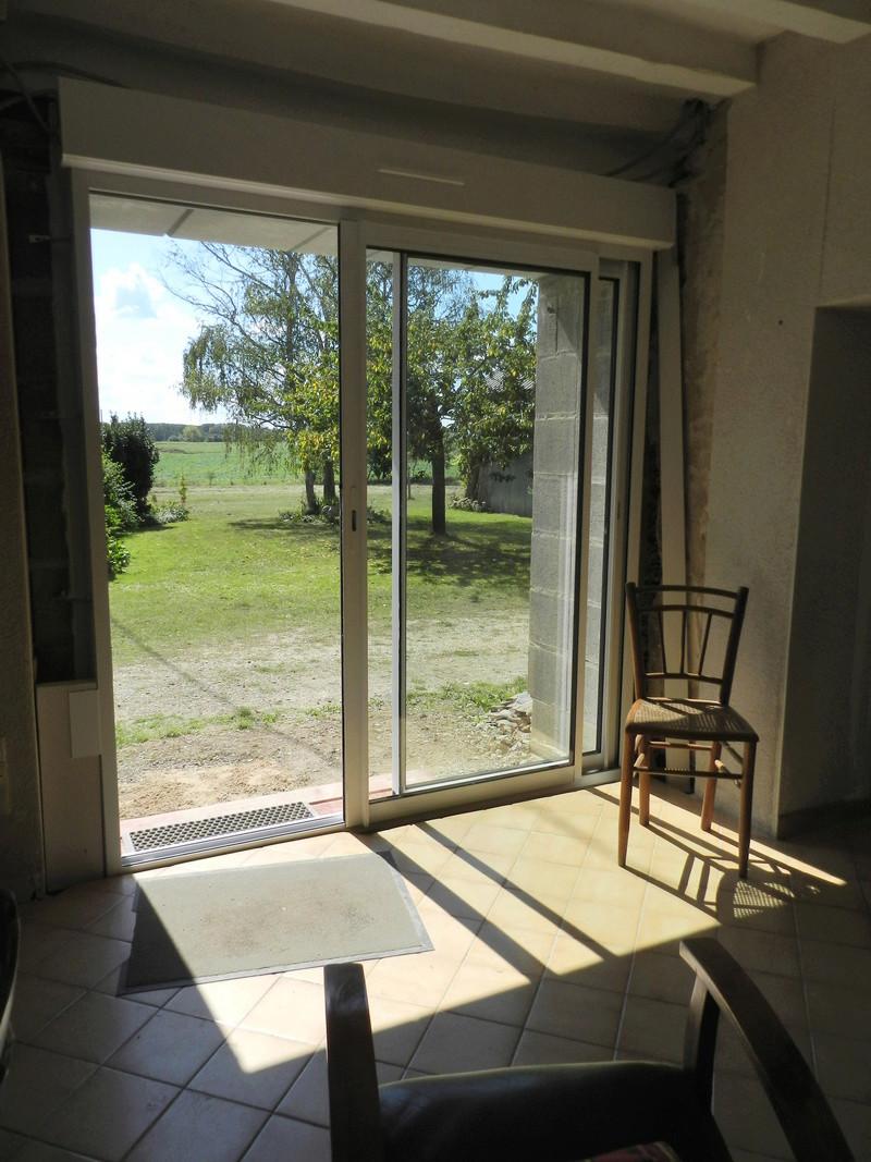 La nouvelle baie vitrée nous impose de créer une terrasse (en bois composite) Vauvyr27