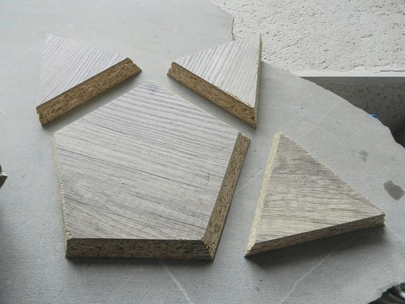 Construire des polyèdres en bois donc d'une certaine épaisseur Vauvyr36