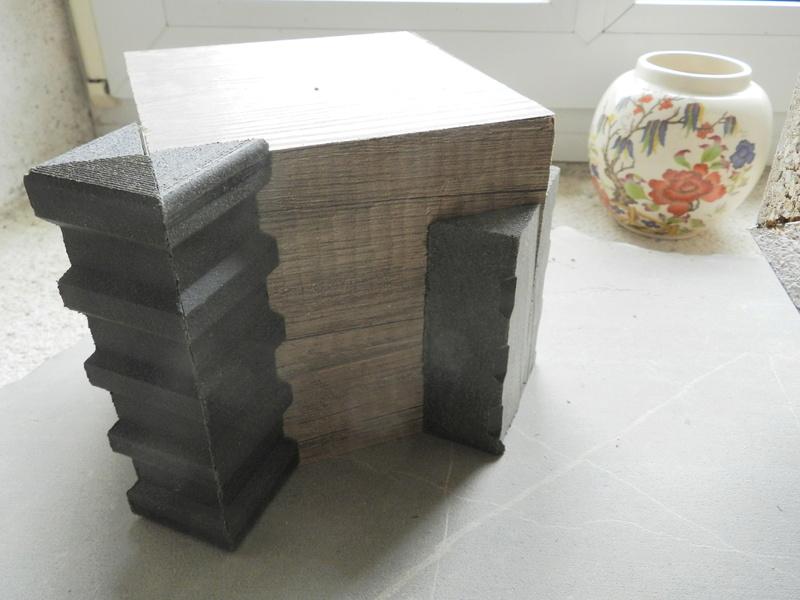 Construire des polyèdres en bois donc d'une certaine épaisseur Vauvyr40