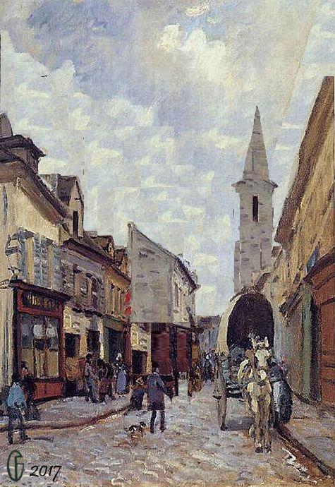 Et si Van Gogh était venu lui-aussi à La Bazouge? (Collages et pastiches) Y_187210