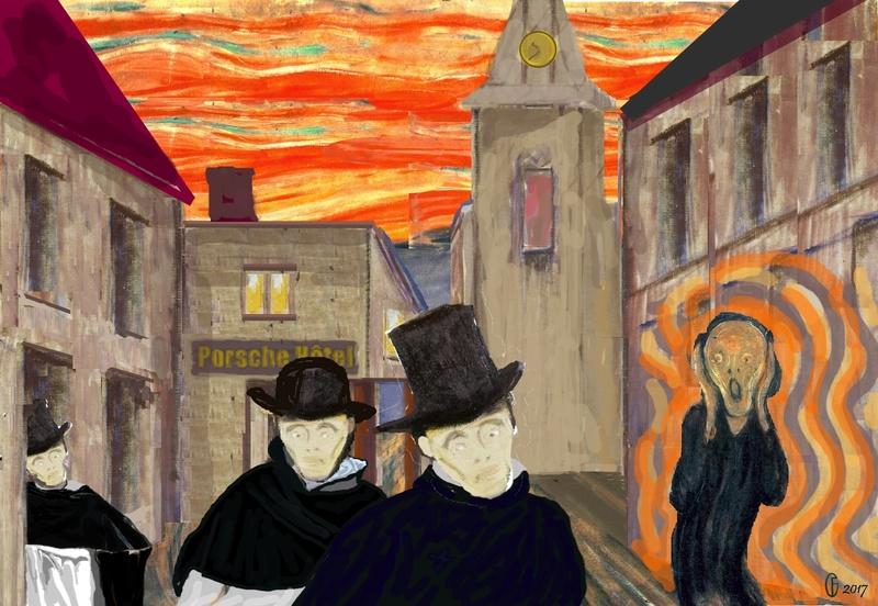 Et si Van Gogh était venu lui-aussi à La Bazouge? (Collages et pastiches) Y_188810