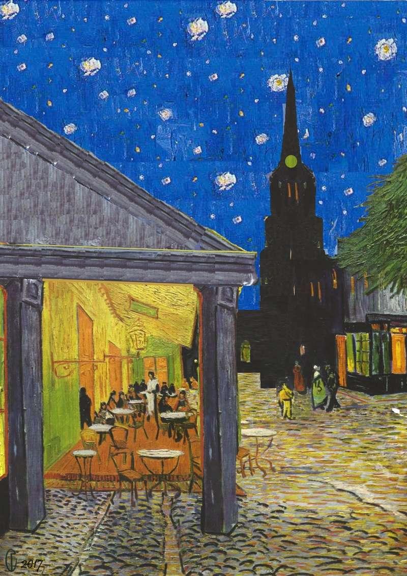 Et si Van Gogh était venu lui-aussi à La Bazouge? (Collages et pastiches) Y_189010