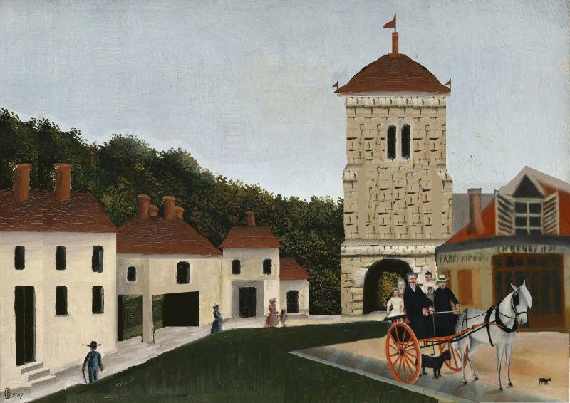Et si Van Gogh était venu lui-aussi à La Bazouge? (Collages et pastiches) Y_190913