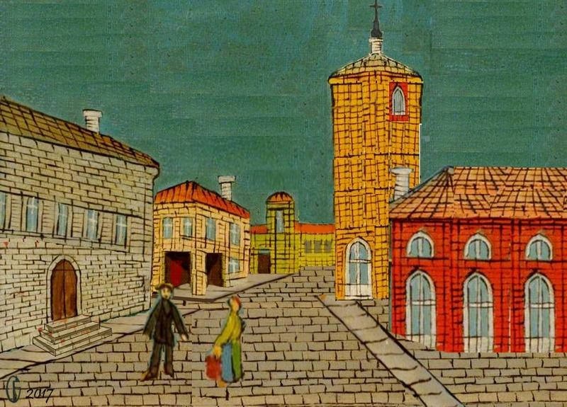 Et si Van Gogh était venu lui-aussi à La Bazouge? (Collages et pastiches) Y_193311
