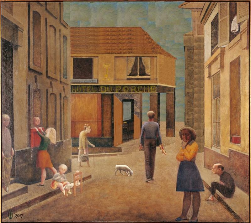 Et si Van Gogh était venu lui-aussi à La Bazouge? (Collages et pastiches) Y_195810