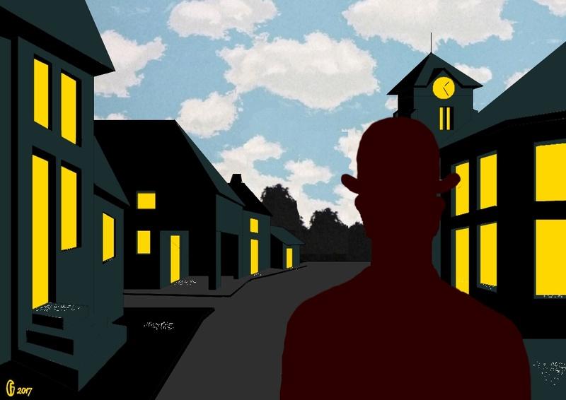 Et si Van Gogh était venu lui-aussi à La Bazouge? (Collages et pastiches) Y_196411