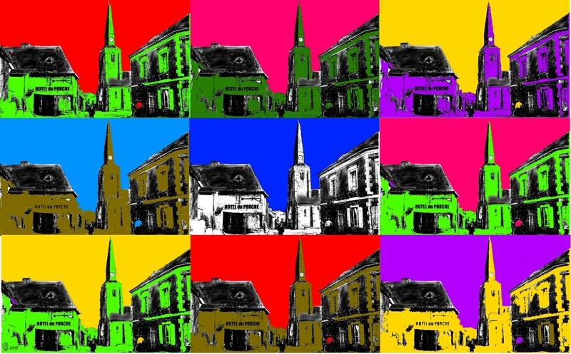 Et si Van Gogh était venu lui-aussi à La Bazouge? (Collages et pastiches) Y_196910