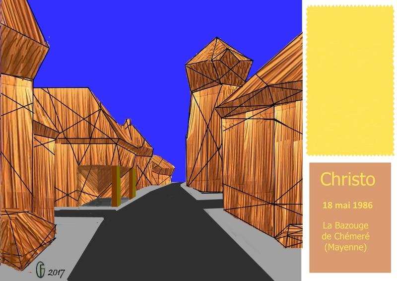 Et si Van Gogh était venu lui-aussi à La Bazouge? (Collages et pastiches) Y_198510