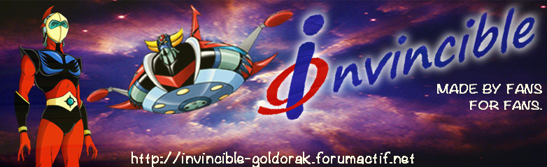 Goldorak ... by Invincible !