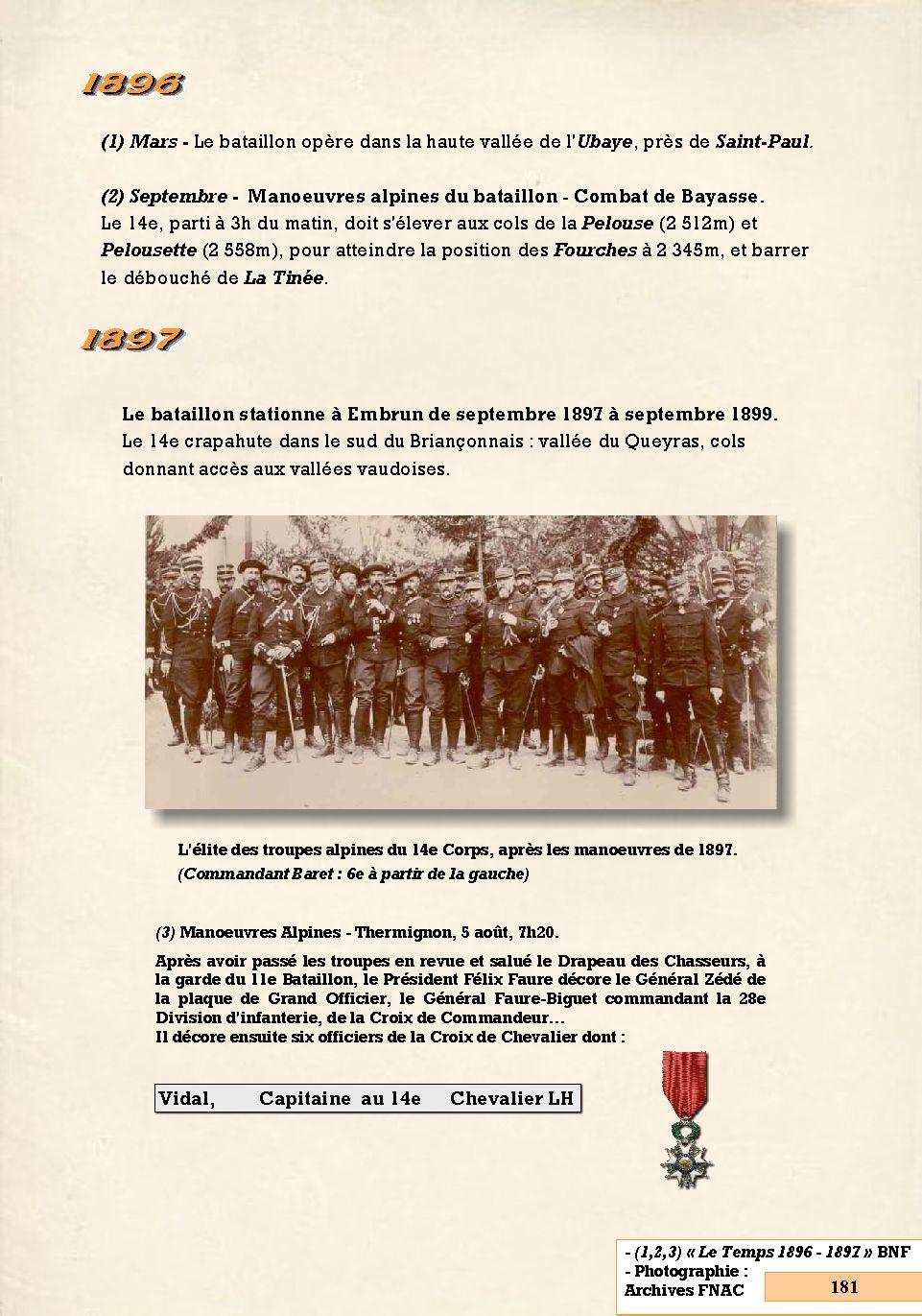 L'Historique du 14e Bataillon de Chasseurs. 1854 - 1962 Page_101