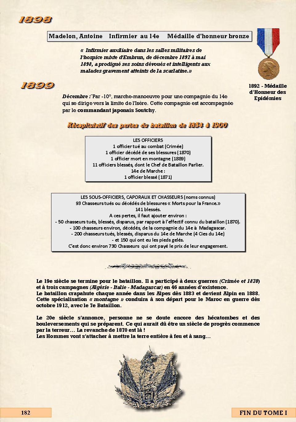 L'Historique du 14e Bataillon de Chasseurs. 1854 - 1962 Page_104