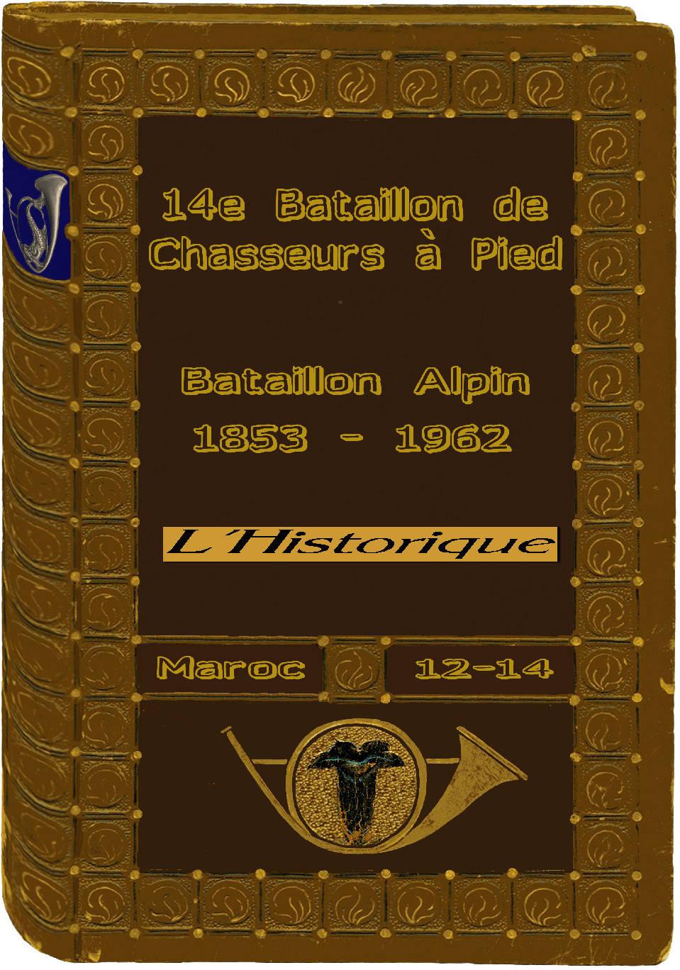 L'Historique du 14e Bataillon de Chasseurs. 1854 - 1962 Page_115