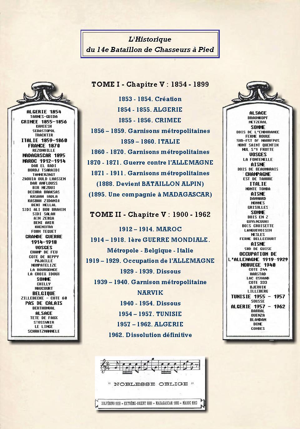 L'Historique du 14e Bataillon de Chasseurs. 1854 - 1962 Page_116