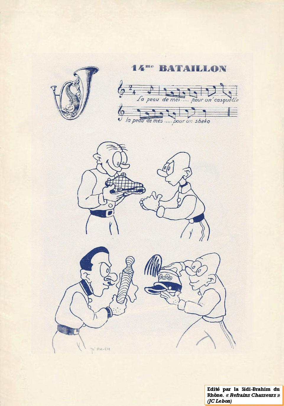 L'Historique du 14e Bataillon de Chasseurs. 1854 - 1962 Page_118