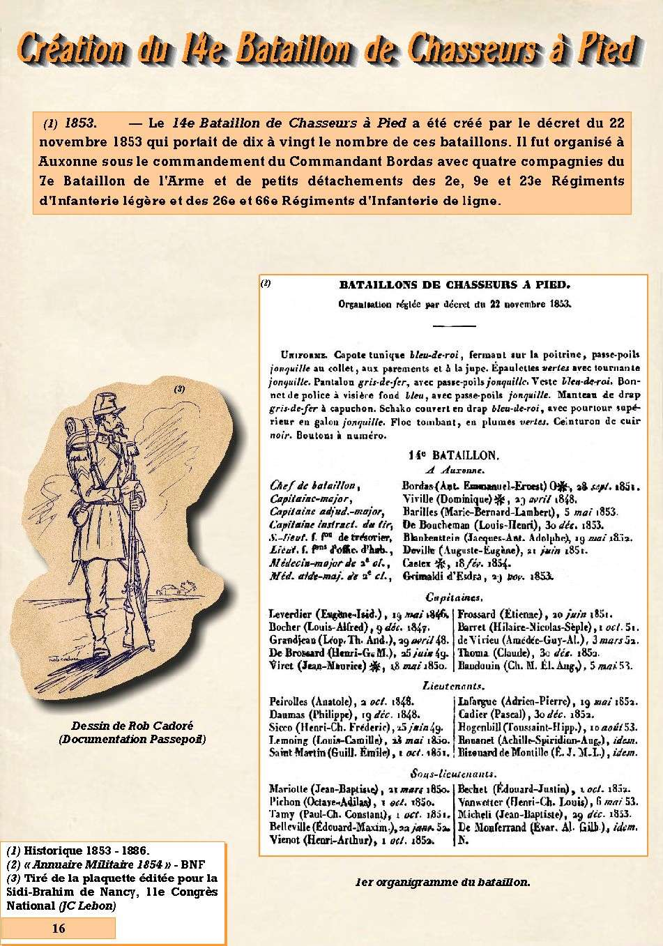 L'Historique du 14e Bataillon de Chasseurs. 1854 - 1962 Page_120