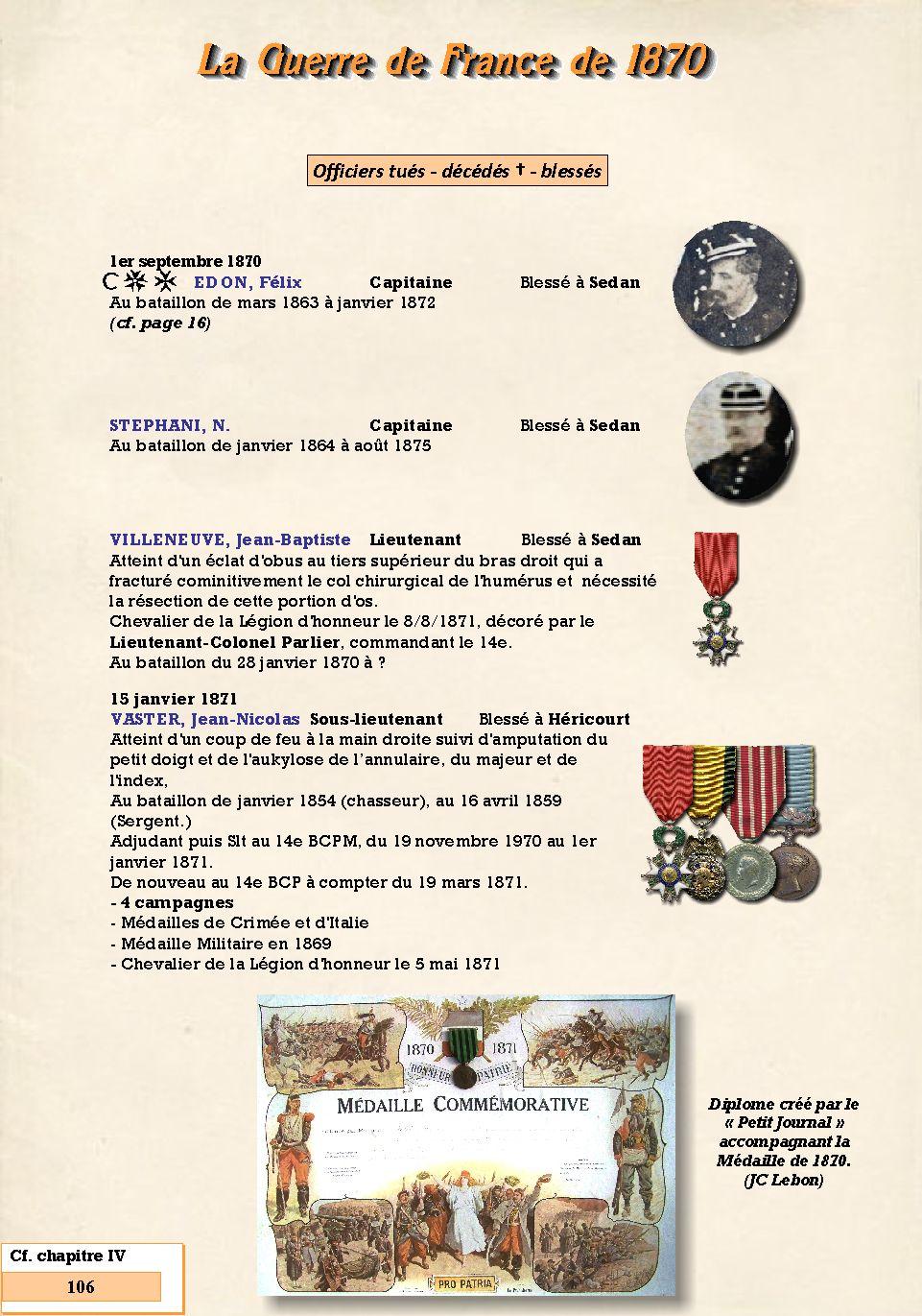 L'Historique du 14e Bataillon de Chasseurs. 1854 - 1962 Page_126