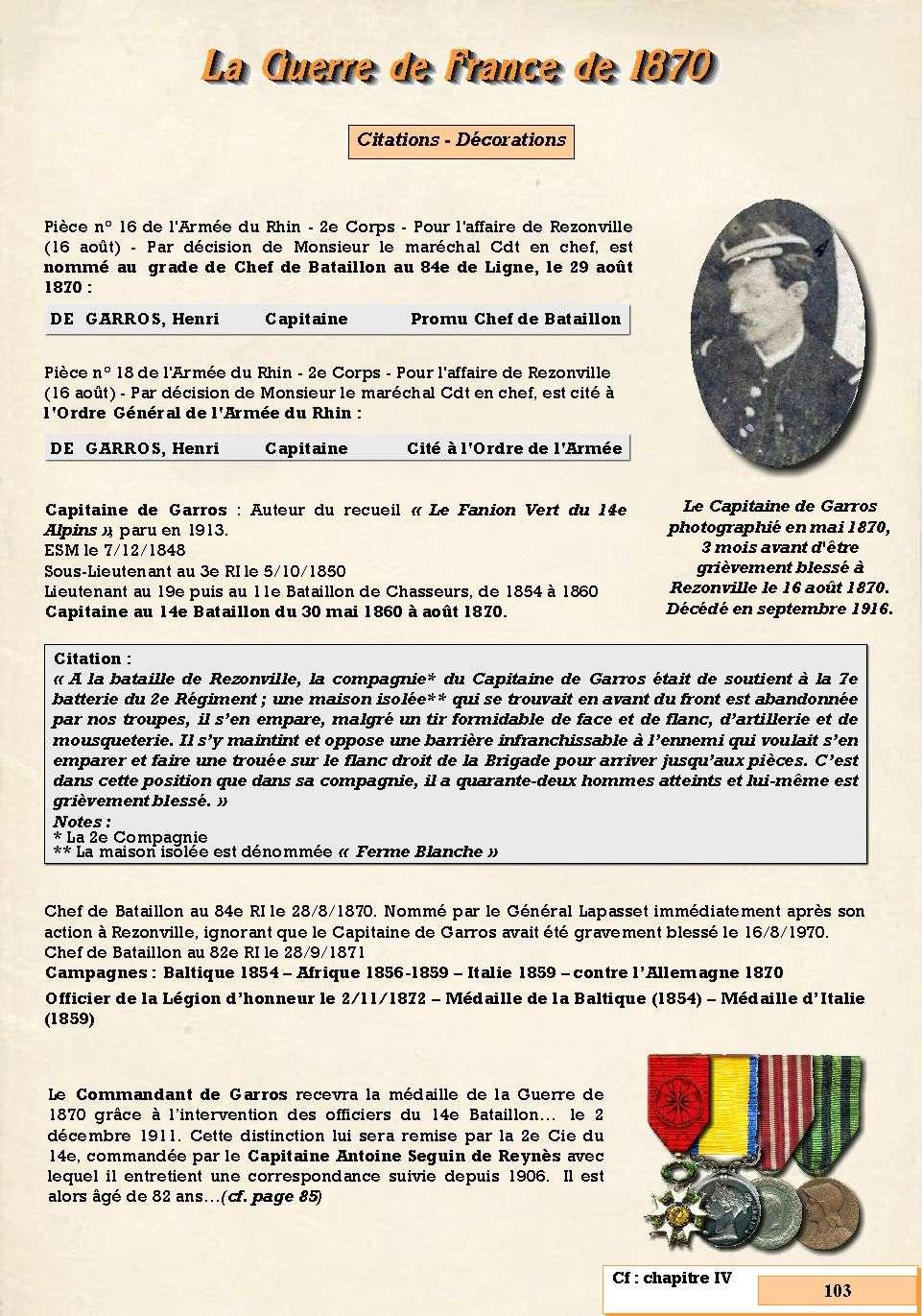 L'Historique du 14e Bataillon de Chasseurs. 1854 - 1962 Page_127