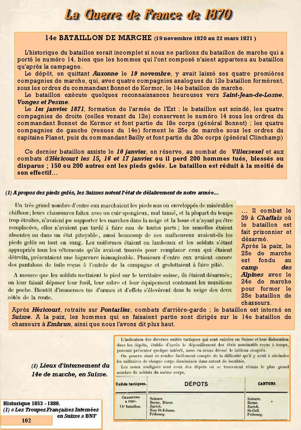 L'Historique du 14e Bataillon de Chasseurs. 1854 - 1962 Page_128