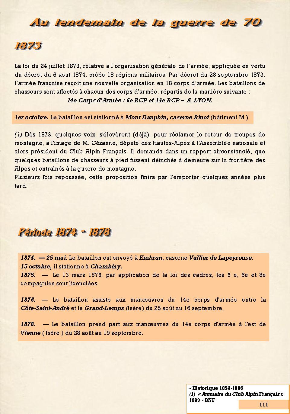 L'Historique du 14e Bataillon de Chasseurs. 1854 - 1962 Page_134