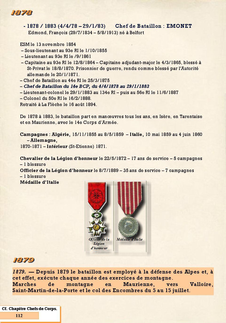 L'Historique du 14e Bataillon de Chasseurs. 1854 - 1962 Page_136