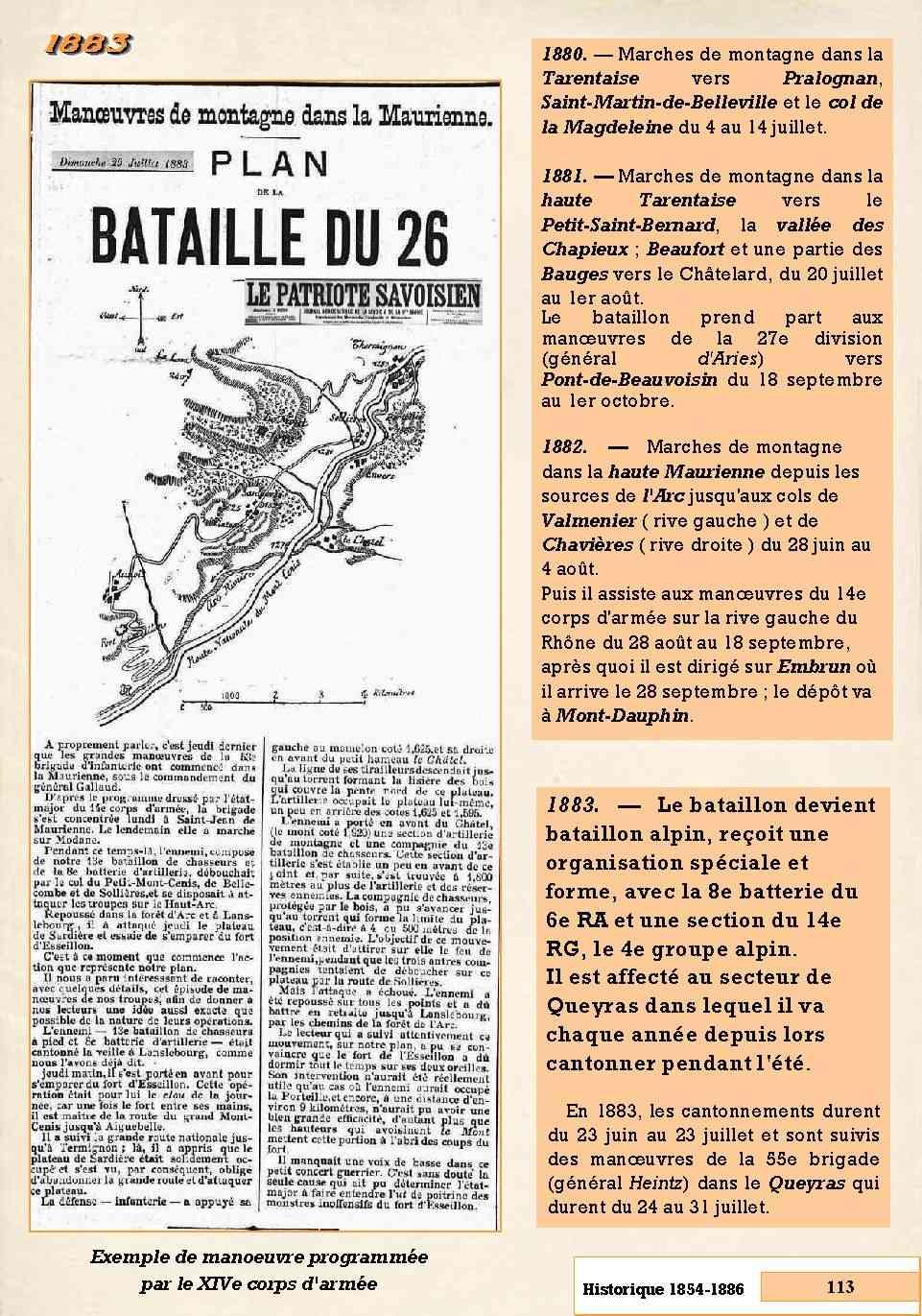 L'Historique du 14e Bataillon de Chasseurs. 1854 - 1962 Page_139