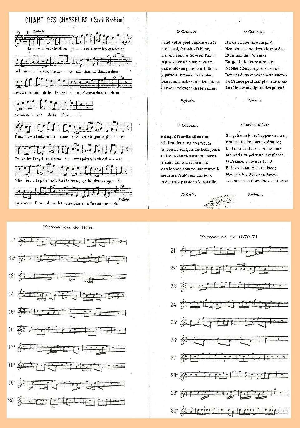 L'Historique du 14e Bataillon de Chasseurs. 1854 - 1962 Page_146