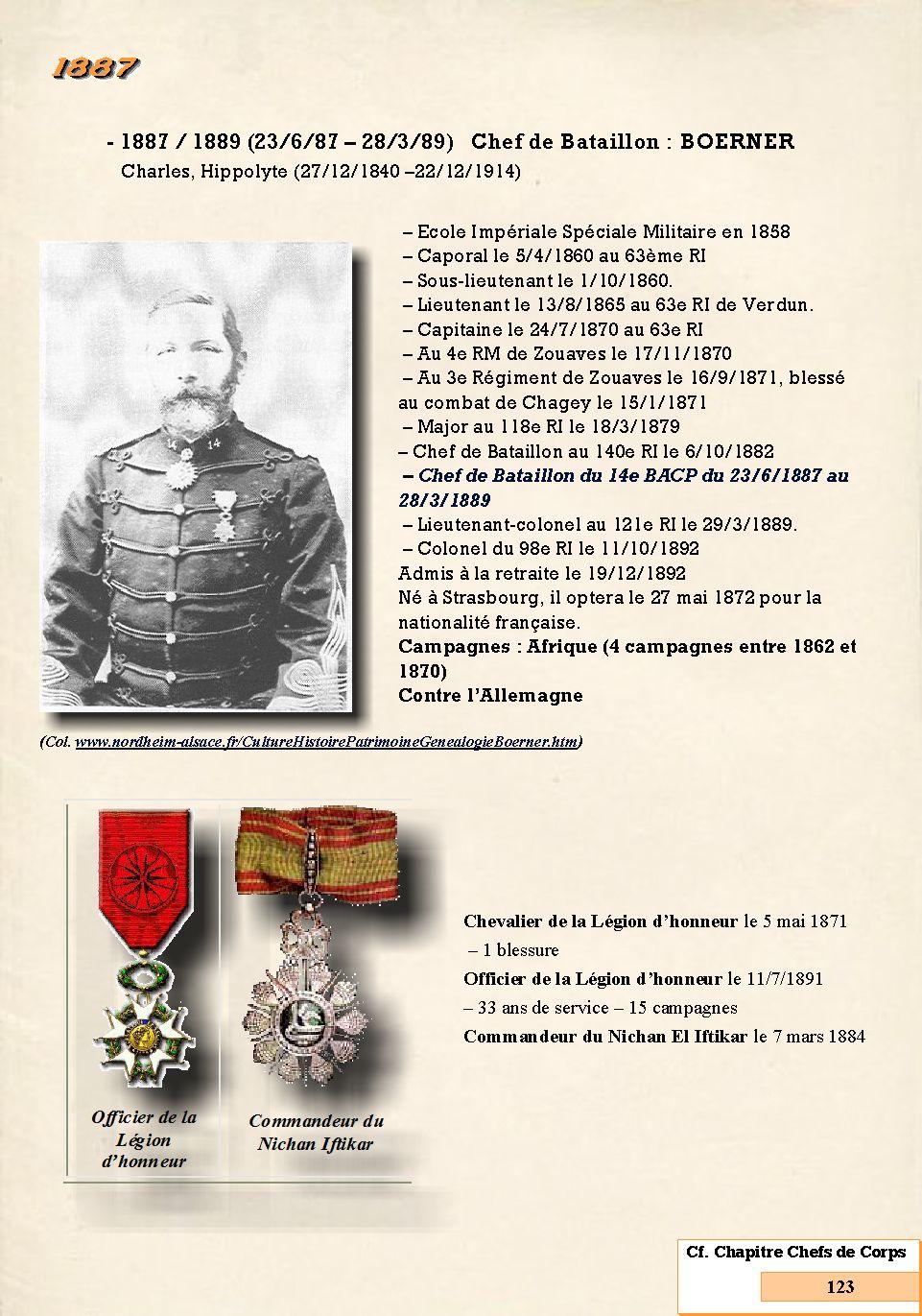 L'Historique du 14e Bataillon de Chasseurs. 1854 - 1962 Page_147