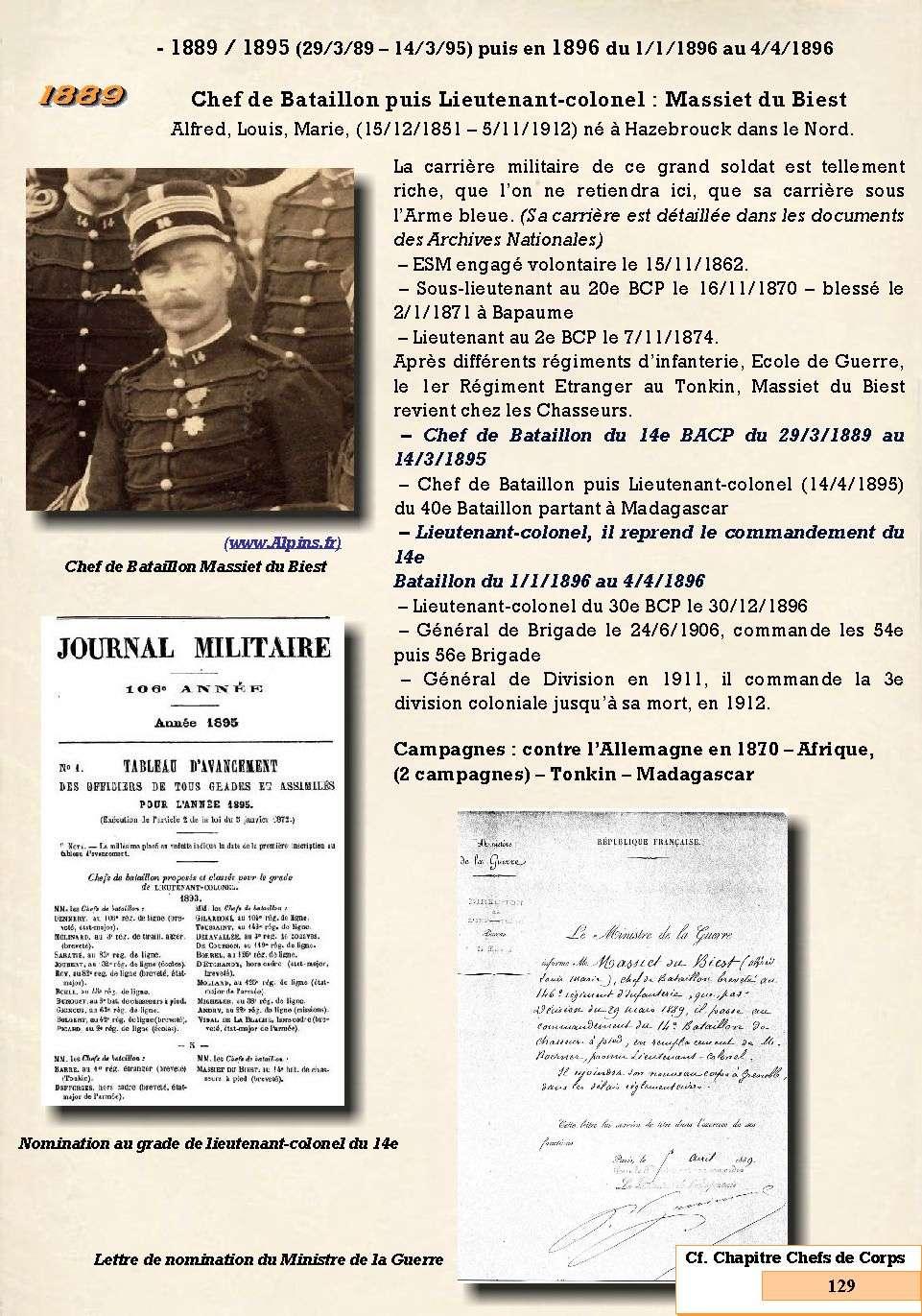 L'Historique du 14e Bataillon de Chasseurs. 1854 - 1962 Page_150