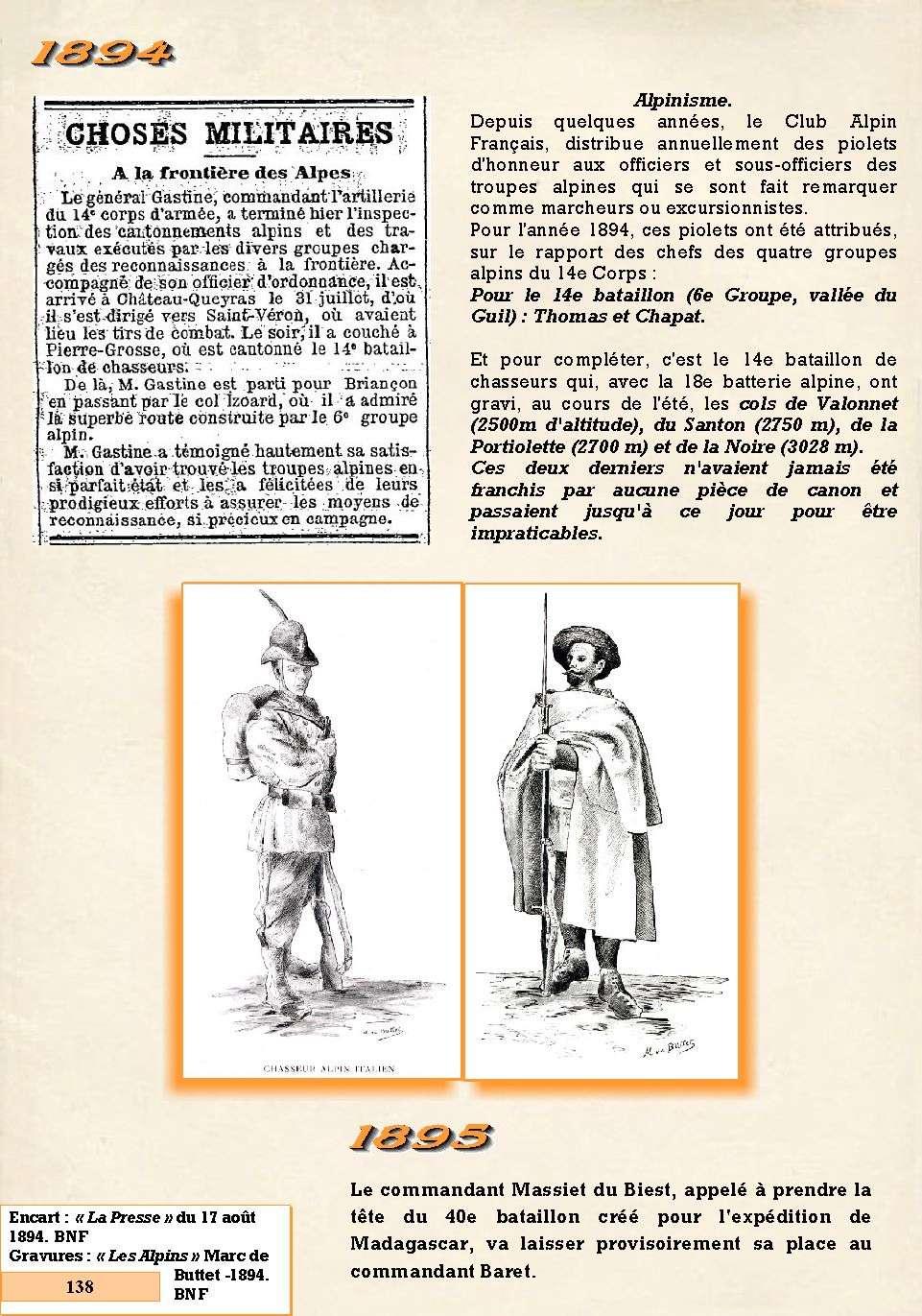 L'Historique du 14e Bataillon de Chasseurs. 1854 - 1962 Page_164