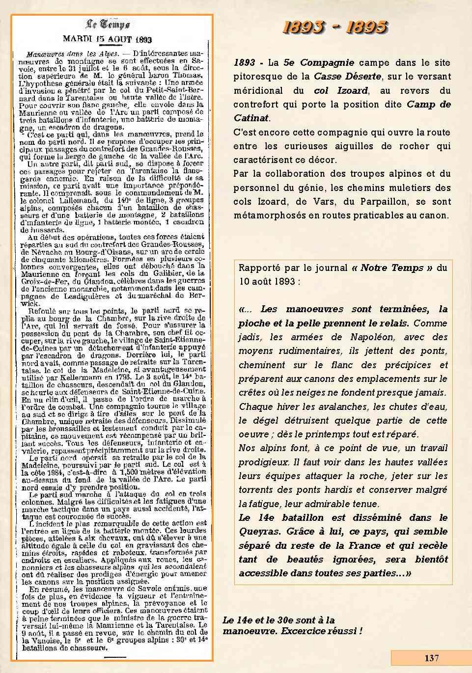 L'Historique du 14e Bataillon de Chasseurs. 1854 - 1962 Page_165