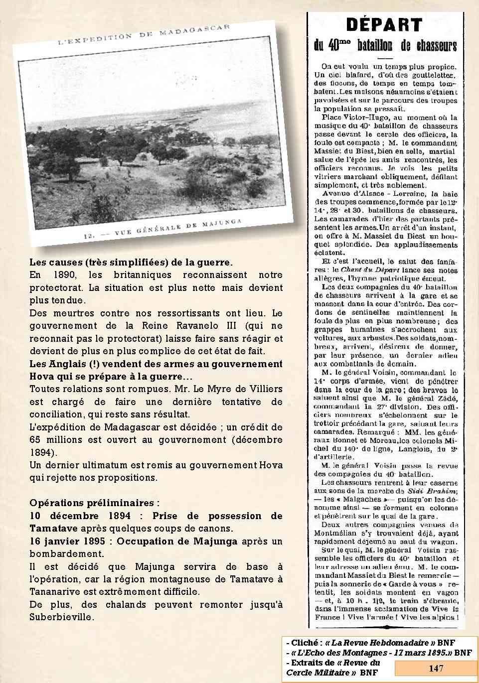 L'Historique du 14e Bataillon de Chasseurs. 1854 - 1962 Page_172