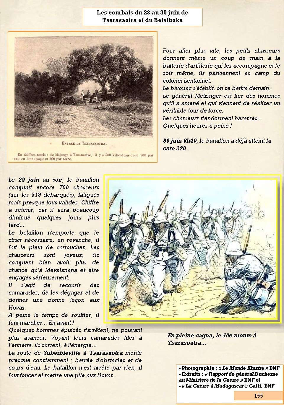 L'Historique du 14e Bataillon de Chasseurs. 1854 - 1962 Page_180
