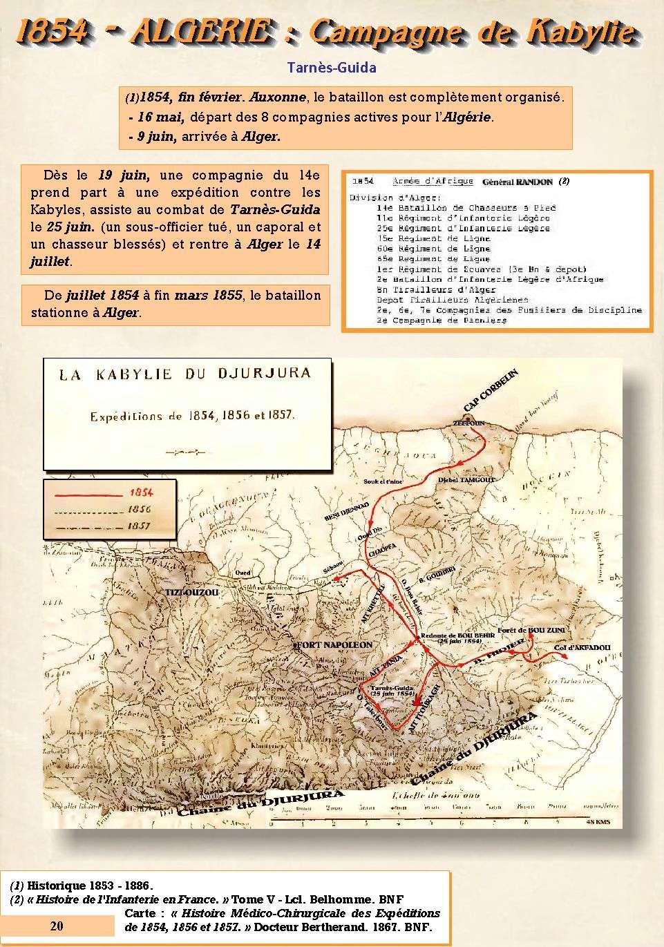 L'Historique du 14e Bataillon de Chasseurs. 1854 - 1962 Page_210