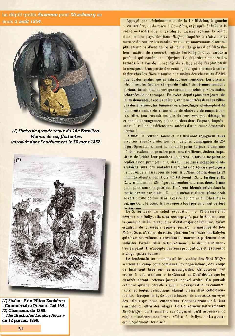 L'Historique du 14e Bataillon de Chasseurs. 1854 - 1962 Page_212