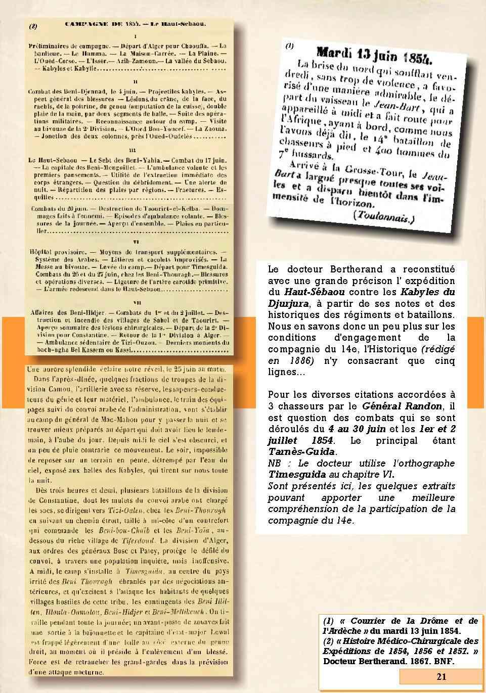 L'Historique du 14e Bataillon de Chasseurs. 1854 - 1962 Page_213