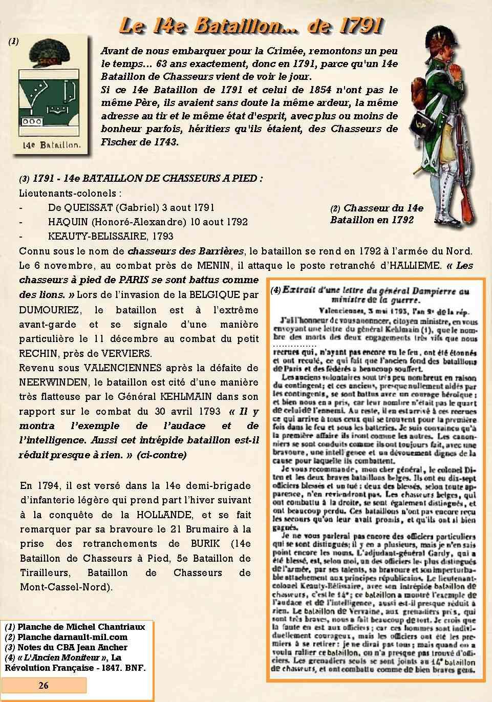 L'Historique du 14e Bataillon de Chasseurs. 1854 - 1962 Page_216