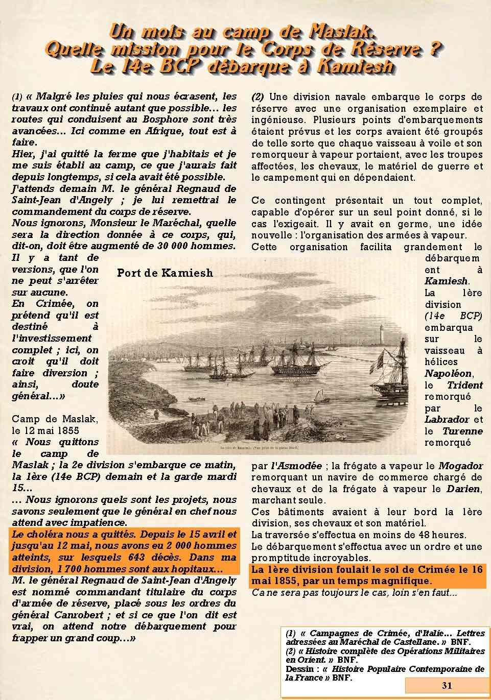 L'Historique du 14e Bataillon de Chasseurs. 1854 - 1962 Page_316