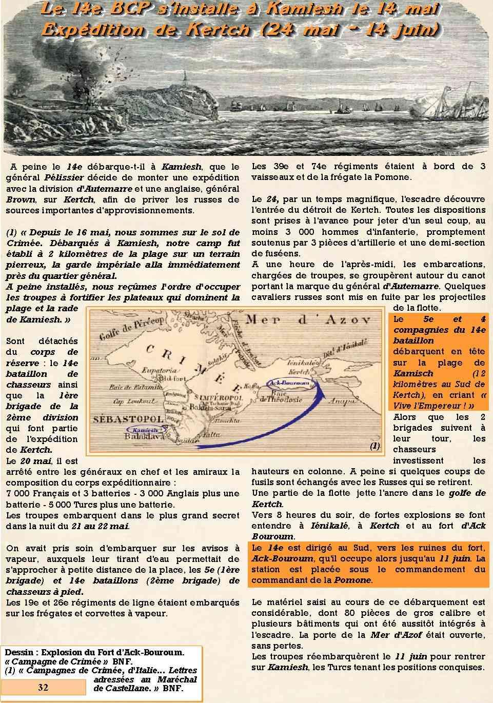 L'Historique du 14e Bataillon de Chasseurs. 1854 - 1962 Page_317