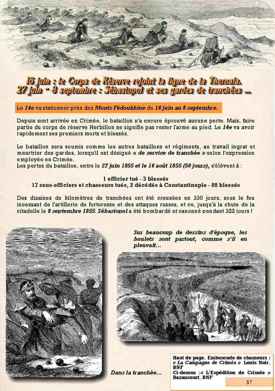 L'Historique du 14e Bataillon de Chasseurs. 1854 - 1962 Page_321