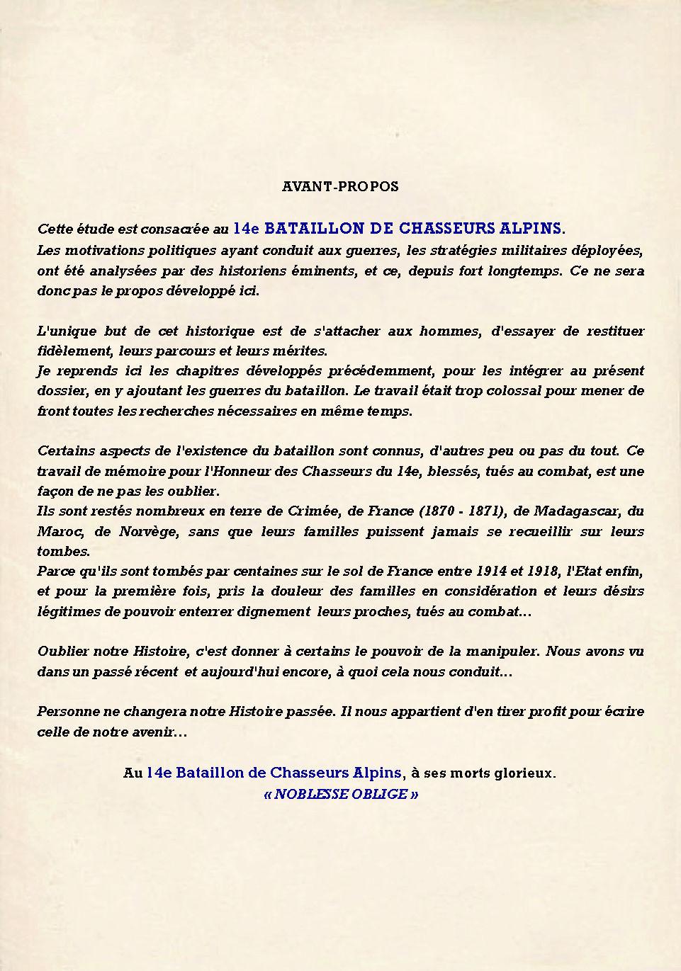 L'Historique du 14e Bataillon de Chasseurs. 1854 - 1962 Page_511