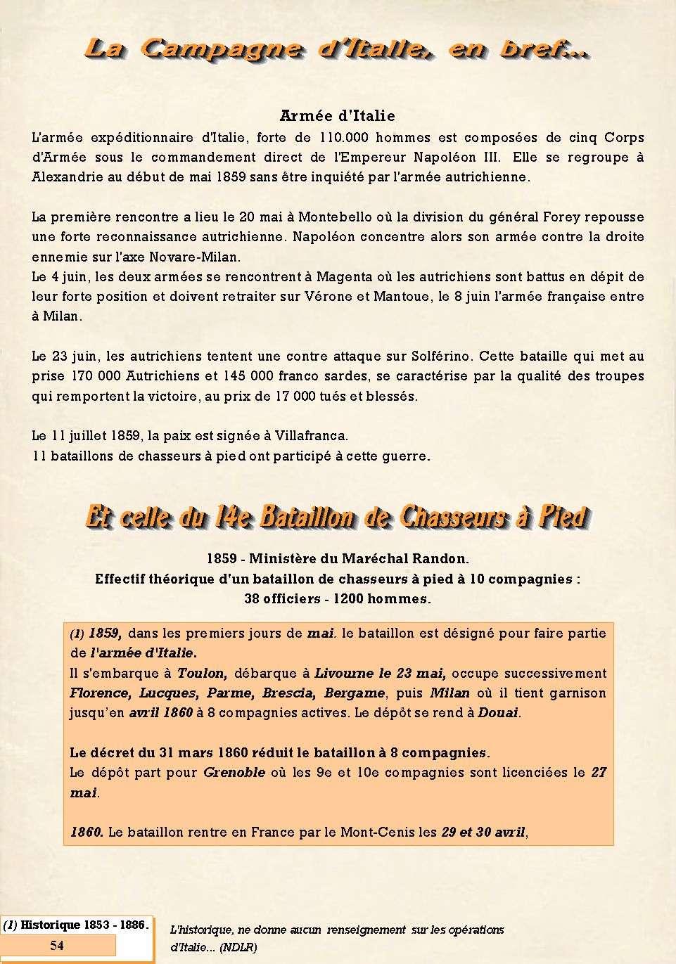 L'Historique du 14e Bataillon de Chasseurs. 1854 - 1962 Page_516