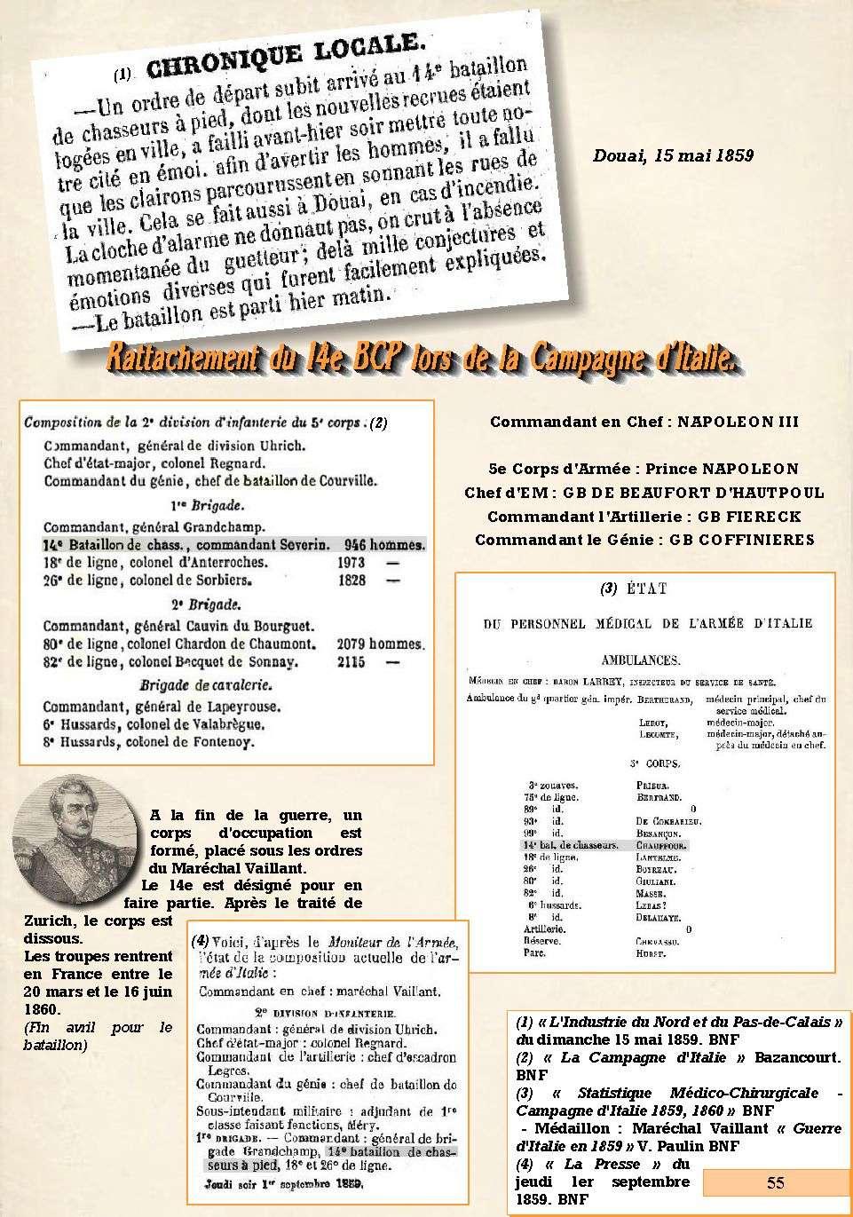 L'Historique du 14e Bataillon de Chasseurs. 1854 - 1962 Page_518