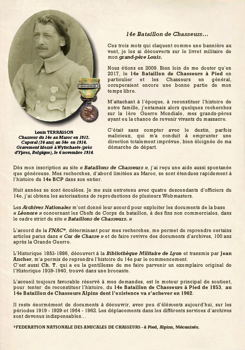 L'Historique du 14e Bataillon de Chasseurs. 1854 - 1962 Page_611